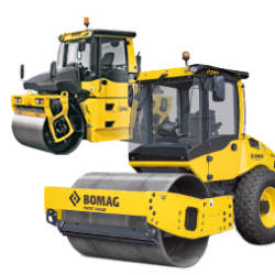 Bomag materieel